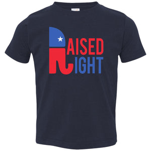 Raised Right Toddler Tee