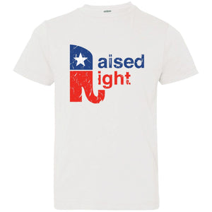 Raised Right Distressed Youth Tee