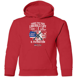 Things That Make Liberals Cry - USA Statue Liberty Youth Hoodie