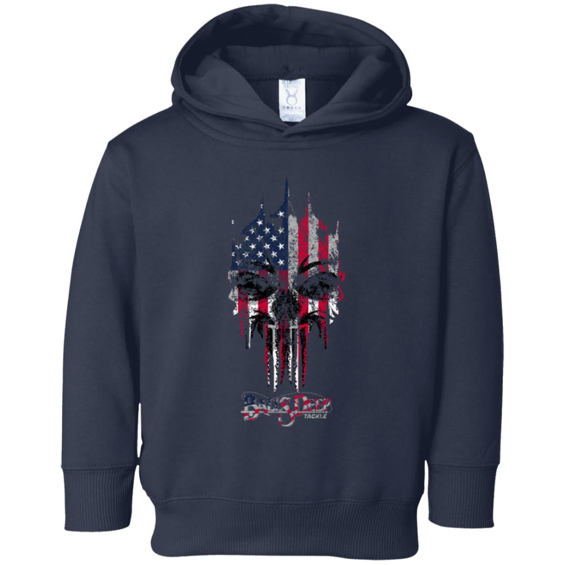 America the Punisher Toddler Hoodie