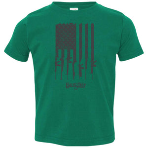 Rifle Flag Toddler Tee