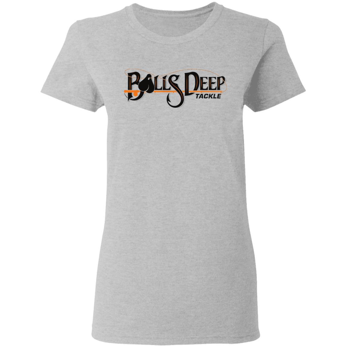 Balls Deep Ballsy Logo (Black) Womens