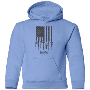 Rifle Flag Youth Hoodie