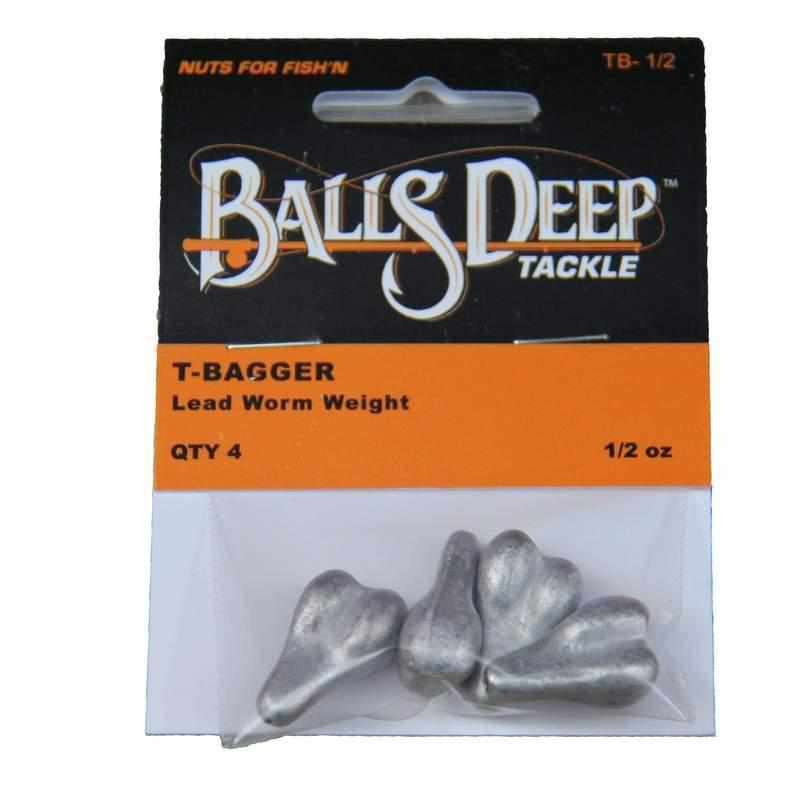 1/2 oz T-Baggers - 12 Pack of Worm Weights