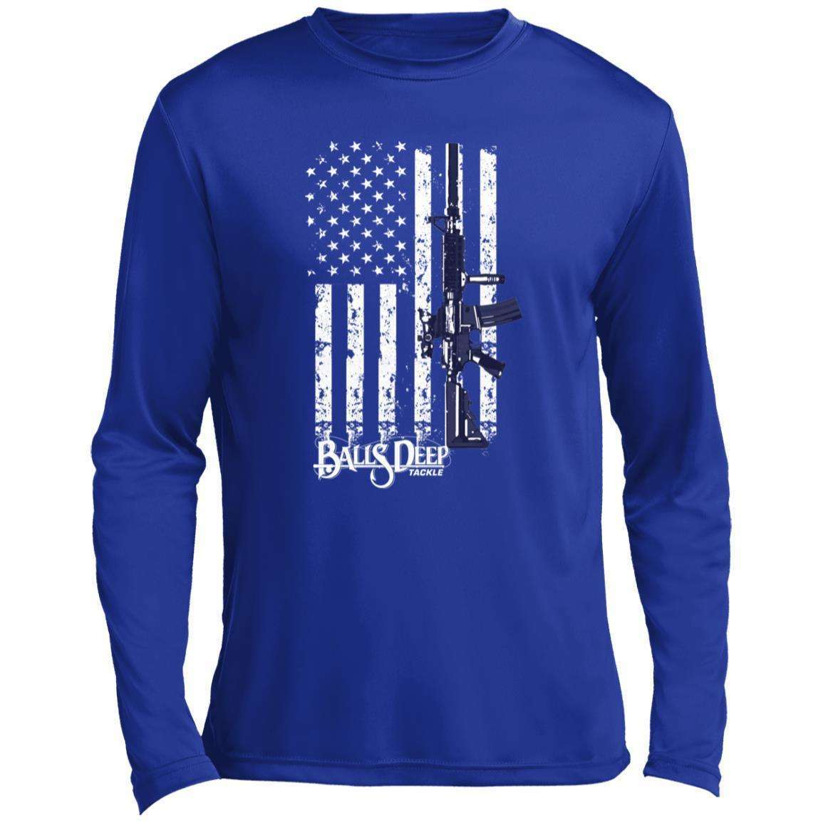 AR15 Flag Performance Long Sleeve