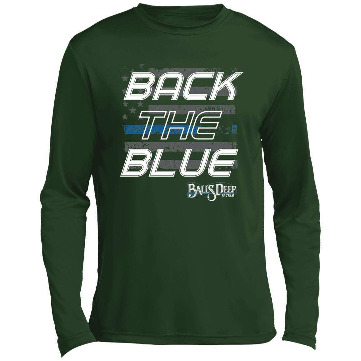 Back the Blue Performance Long Sleeve