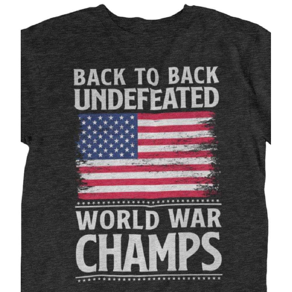 Back to Back Undefeated WW Champs