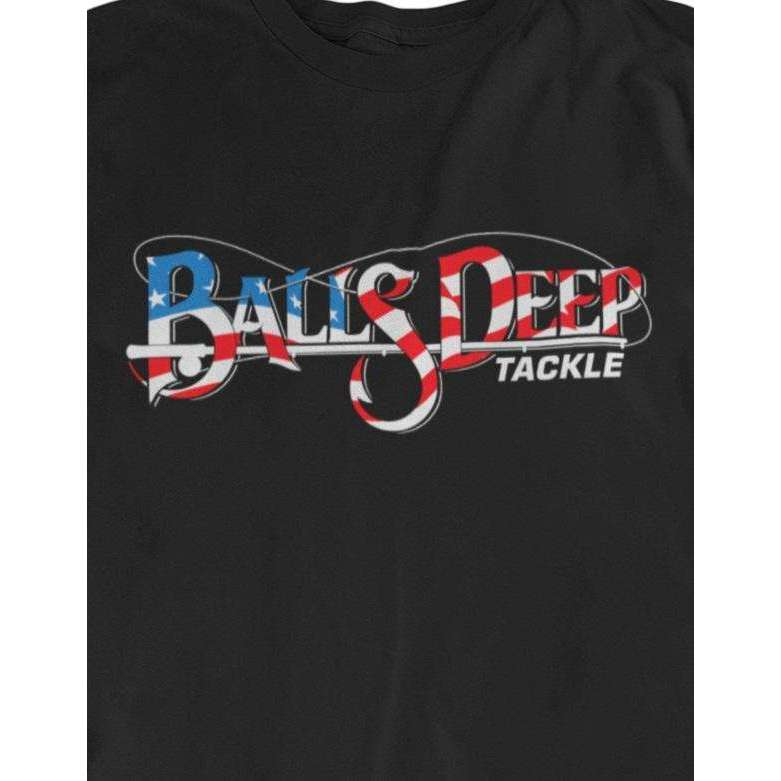 Balls Deep Tackle USA (White)