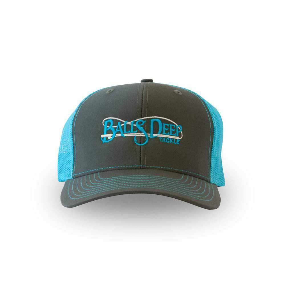 Charcoal/Neon Blue Snapback