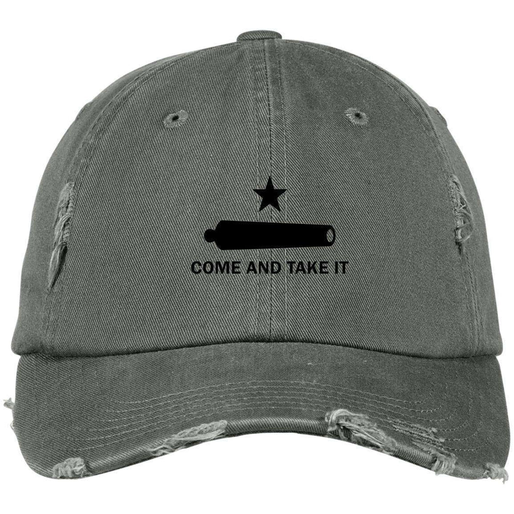 Come and Take It Original Distressed Dad Cap