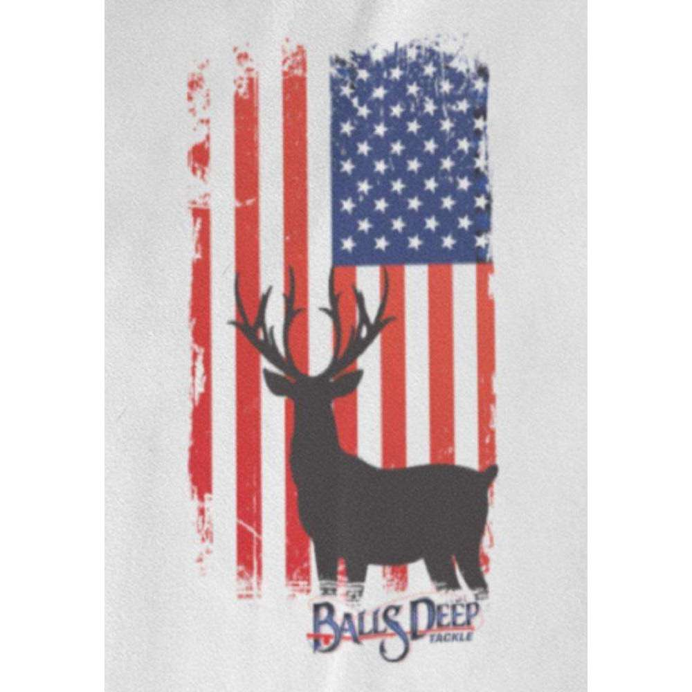 Deer USA Flag