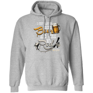 Drink Beer and Jerk My Rod Hoodie