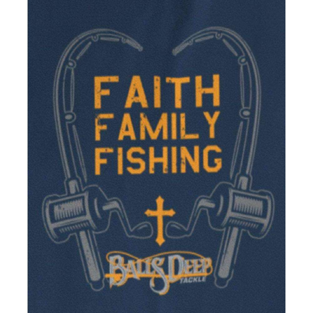 Faith, Family, Fishing - Poles