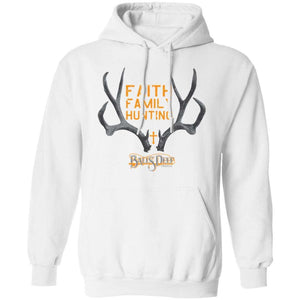 Faith, Family, Hunting Rack Hoodie