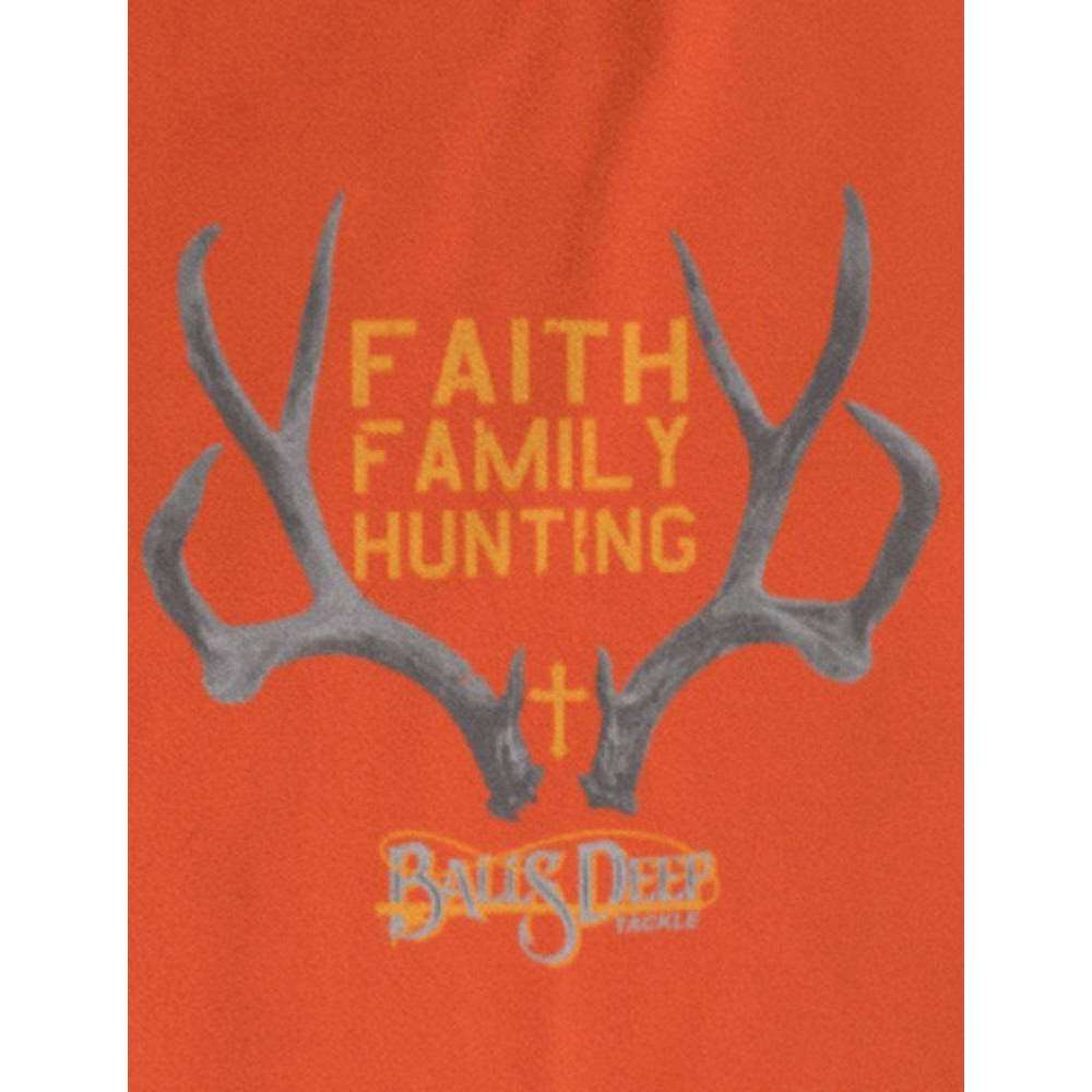 Faith, Family, Hunting Rack