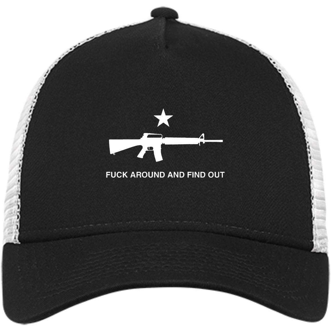 Fuck Around and Find Out M16 Trucker Cap