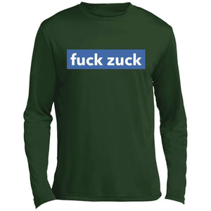 Fuck Zuck FB Logo Performance Long Sleeve