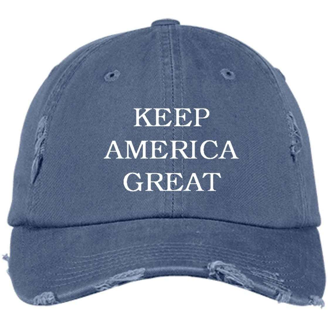 Keep America Great Distressed Dad Cap
