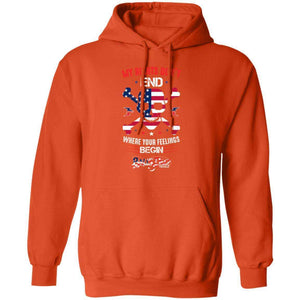 My Rights Don't End Hoodie