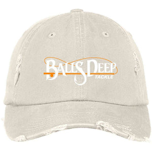 Original Distressed Dad Cap (White Logo)