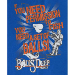 Permission To Fish (Front of Shirt)