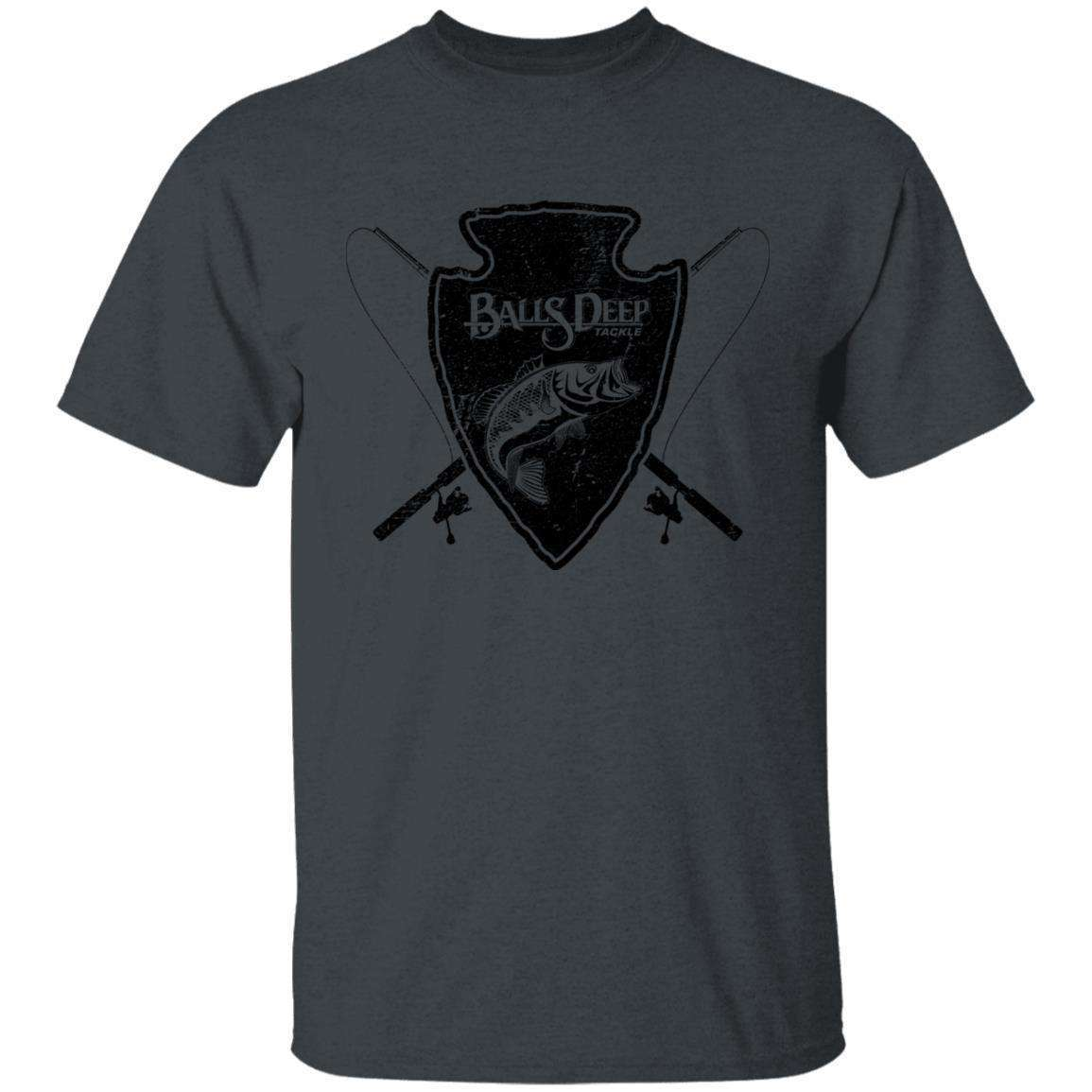 Shield and Logo Black