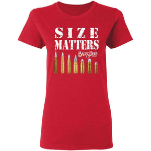 Size Matters - Bullets Womens