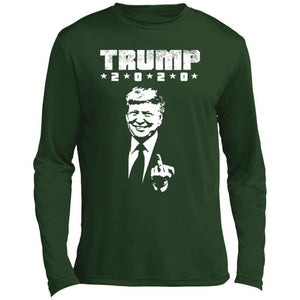Trump Middle Finger Performance Long Sleeve