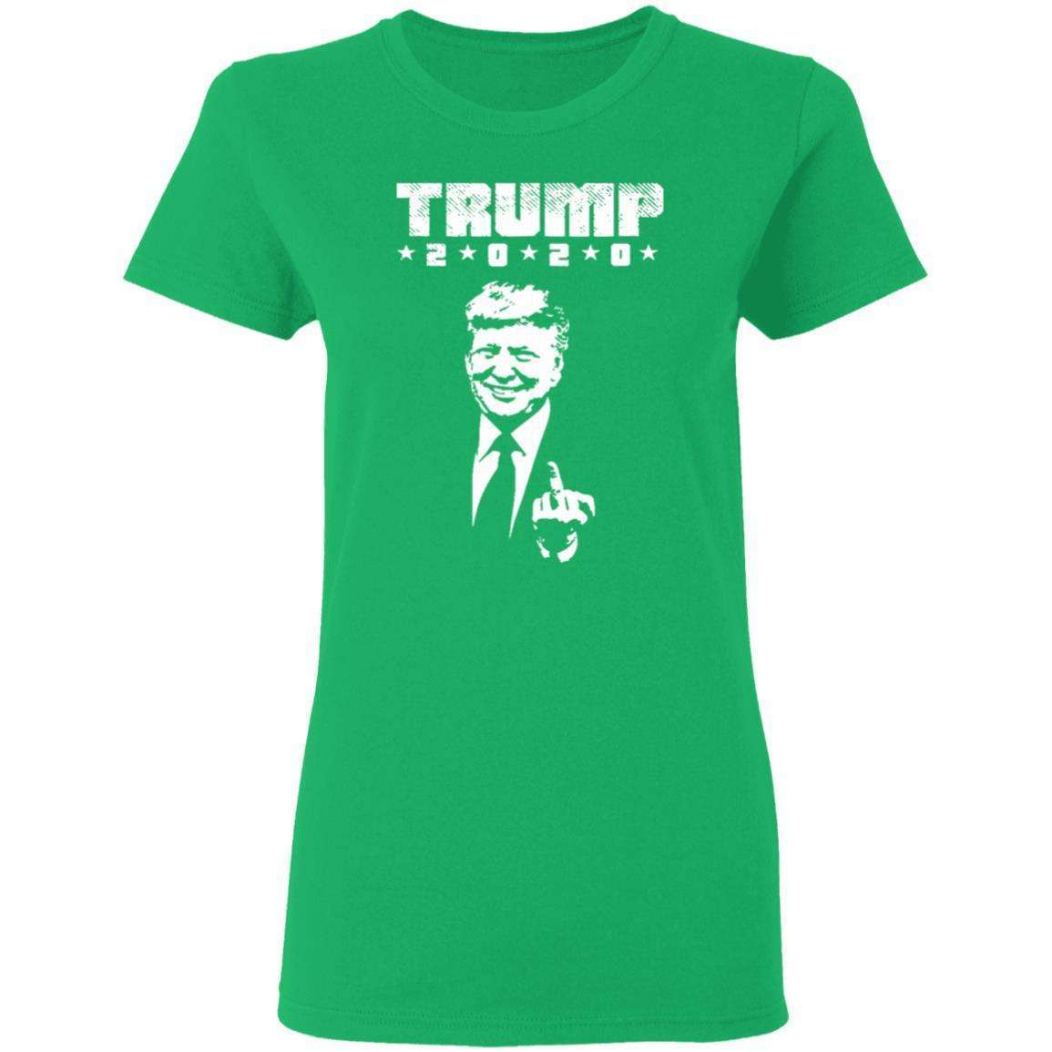 Trump Middle Finger Womens