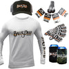 Long Sleeve (UPF50) + Snapback + Sinkers Value Pack