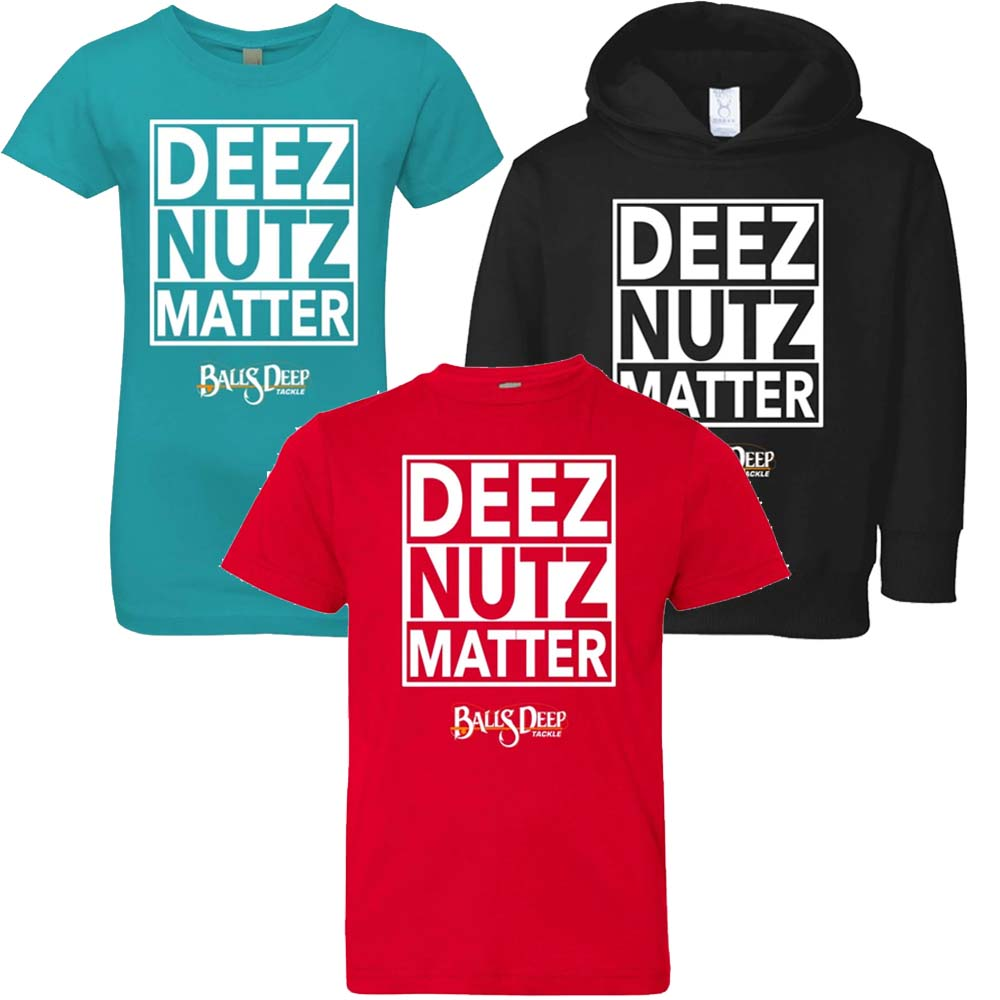 Deez Nutz Matter Youth Tee