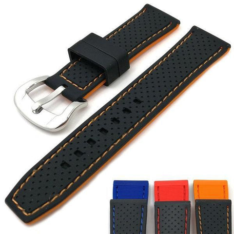 https://www.watch.sg/products/20mm-22mm-24mm-black-rubber-watch-strap-with-orange-red-blue-threads?variant=13969031102519