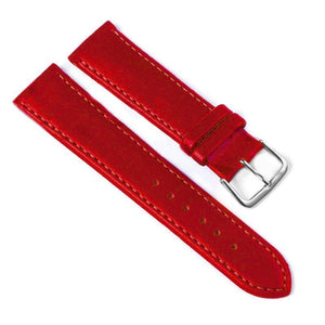 12Mm 14Mm 16Mm 18Mm 20Mm 22Mm 24Mm Leather Watch Strap [4 Variations]