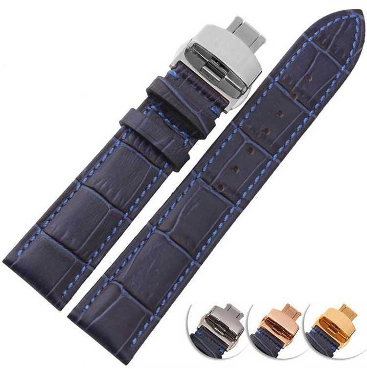 12mm 14mm 16mm 18mm 20mm 22mm Leather Watch Strap [3 Variations]