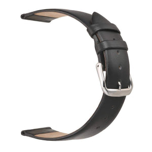 12mm 14mm 16mm 18mm 20mm 22mm White / Pink / Brown / Black Leather Watch Strap [5 Variations]