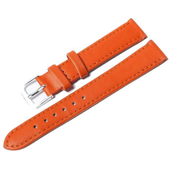 12mm 14mm 16mm 18mm 20mm Leather Watch Strap [10 Variations]