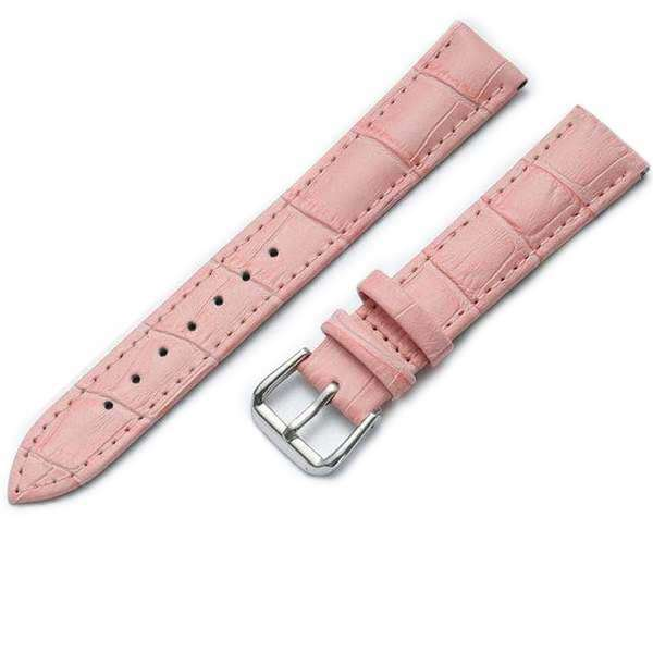 14mm 15mm 16mm 17mm 18mm 19mm 20mm 22mm White / Red / Pink / Blue / Brown / Black Leather Watch Strap [6 Variations]