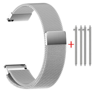 14mm 16mm 18mm 20mm 22mm Milanese Watch Strap With Quick Release Pin