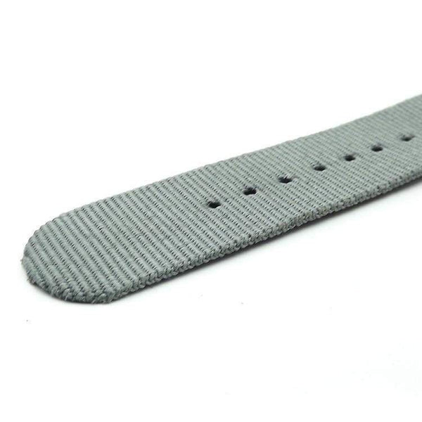 18mm 20mm 22mm 24mm Orange / Red / Green / Grey / Black Nylon NATO Watch Strap [5 Variations]