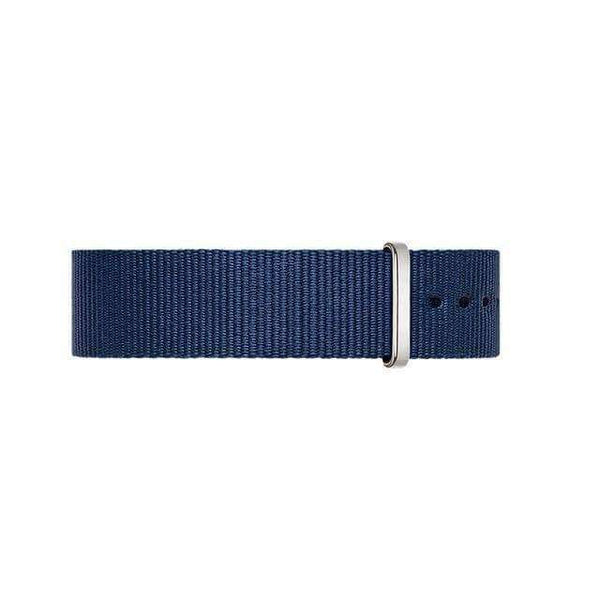 18mm 20mm Blue / Red Nylon Nato Watch Strap [4 Variations]
