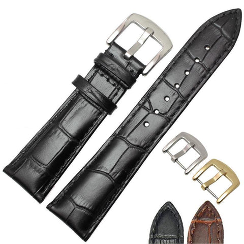 19Mm 20Mm 21Mm 22Mm Leather Watch Strap [2 Variations]