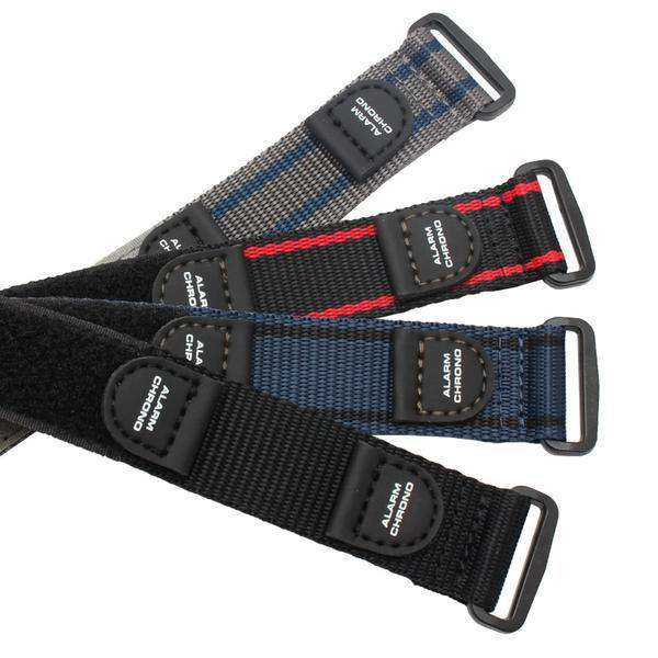 20mm Blue / Grey / Black Canvas Watch Strap [3 Variations]
