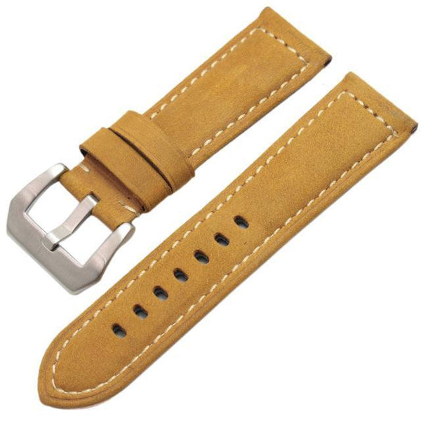 22Mm 24Mm Leather Watch Strap [6 Variations]