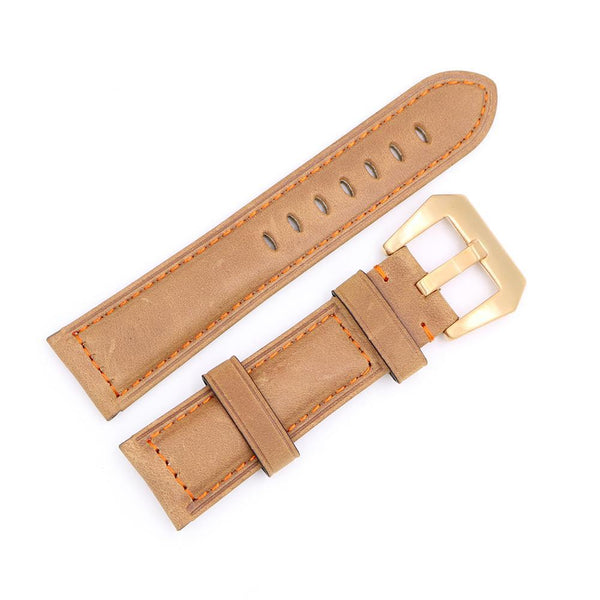 22mm 24mm Leather Watch Strap [7 Variations]
