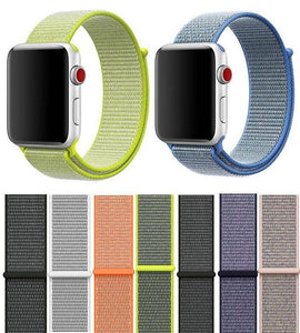 Nylon Apple Watch Bands [21 Variations]