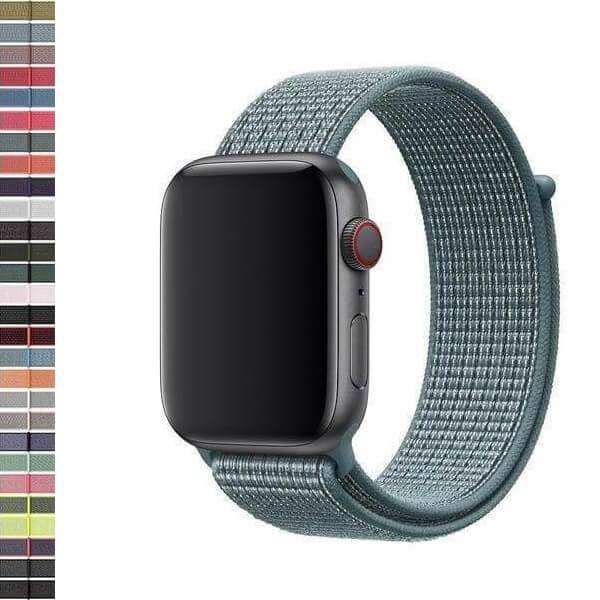 Black Nylon Watch Bands for Apple Watch [X]