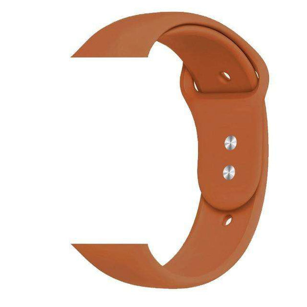 Silicone Watch Bands For Apple Watch [25B Variations]