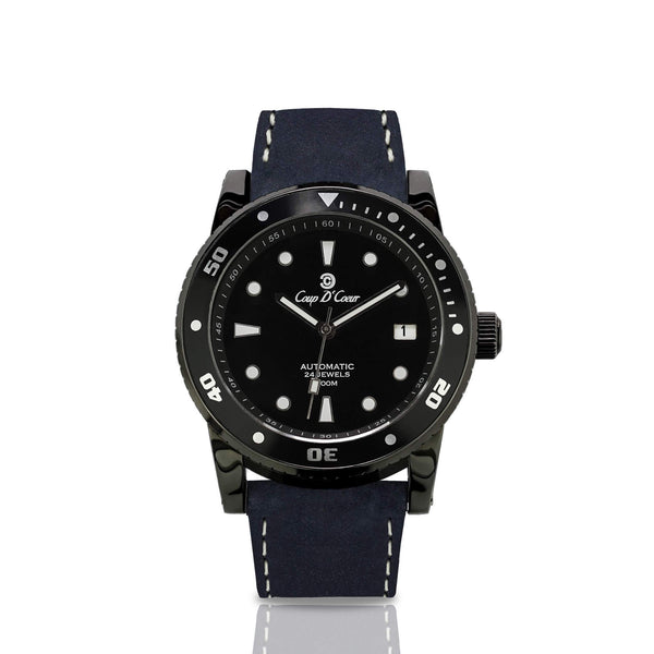 Watch - SGC Classic Full Black Automatic Watch [16 Variations]