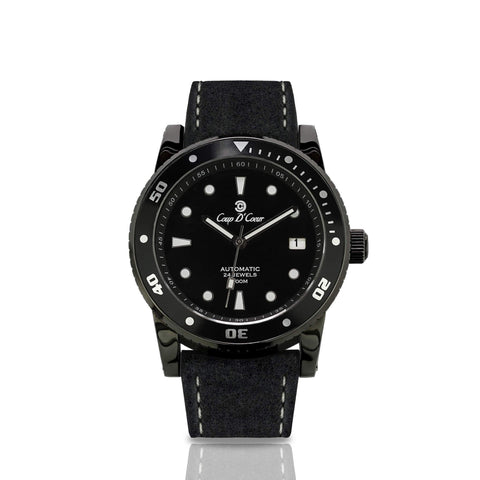 Sgc Classic Full Black Automatic Watch [17 Variations]