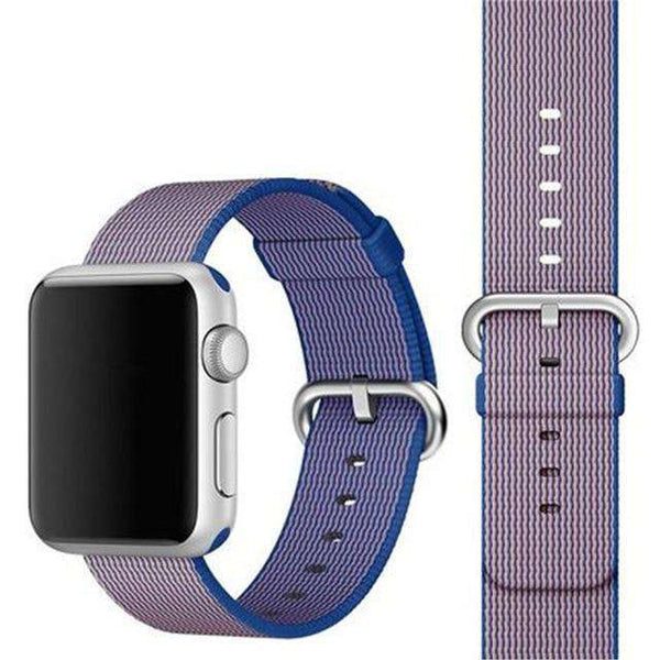 Woven Nylon Watch Bands For Apple Watch [22 Variations]